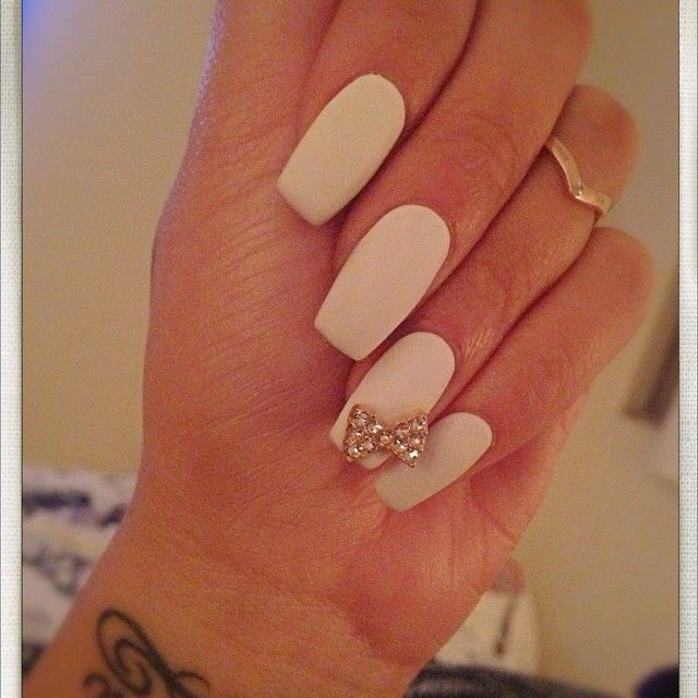 (Shape) # | See more nail designs at http://www.nailsss.com/nail-styles-2014/