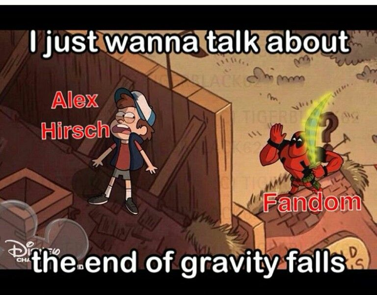 Omg Deadpool In Gravity Falls That Would Be So Awesome And