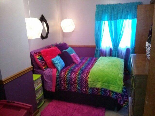 Rainbow Zebra Bedroom Zebra Room Rainbow Zebra Bedroom Zebra