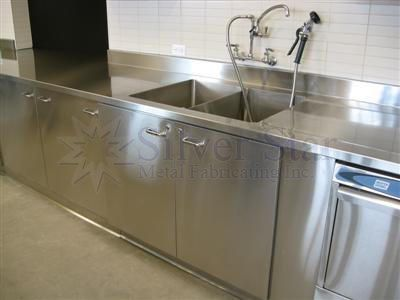 commercial kitchen sink small carts on wheels 19 59k wood stainless steel galina barskaya3383164