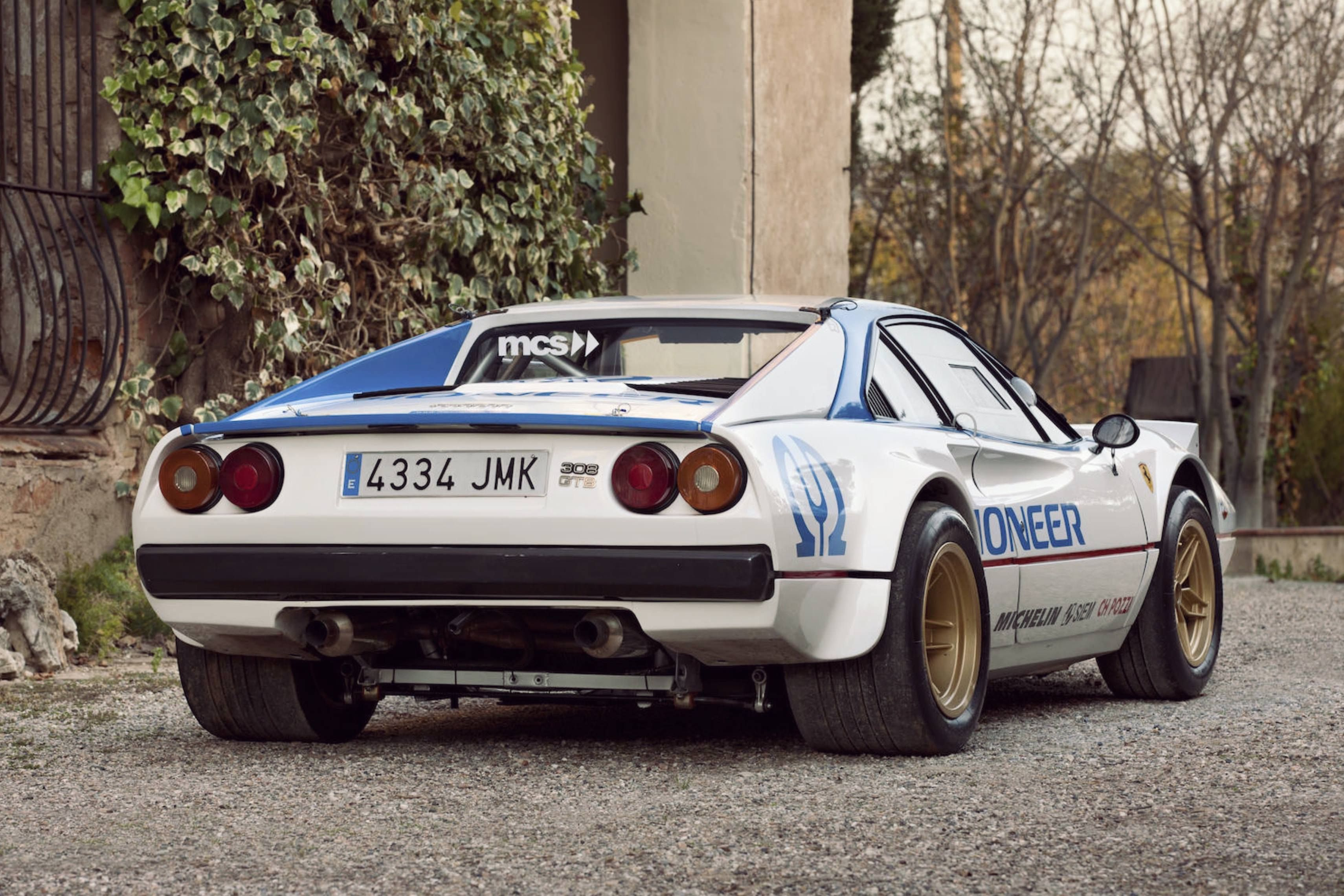FERRARI 308 GTB GROUP 4 RACER