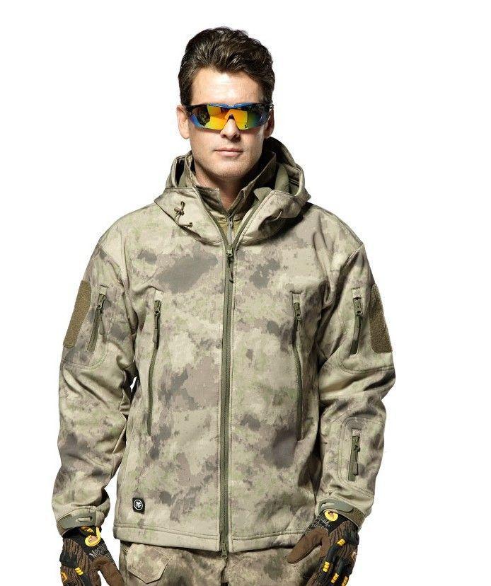 87077063659 TYPHON Softshell Fleece Jacket TAD Kryptek SWAT Black Stealth Hoodie Jacket  And Coat-in Jackets from Men s Clothing   Accessories on Aliexpress.com ...
