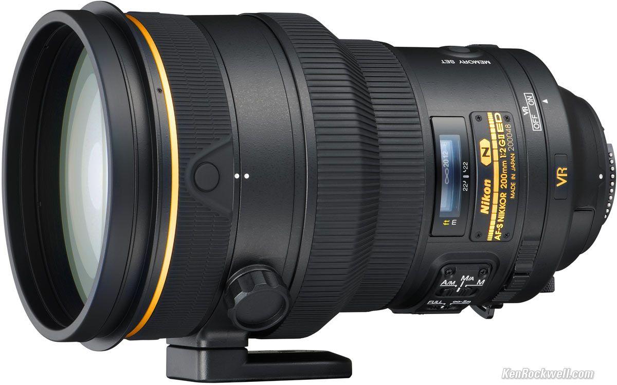 Nikon 200mm F 2 Vr Ii Nikon Lenses Photography Lenses Nikon Dslr Camera