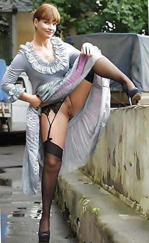 Hot busty latina with stockings masturbate