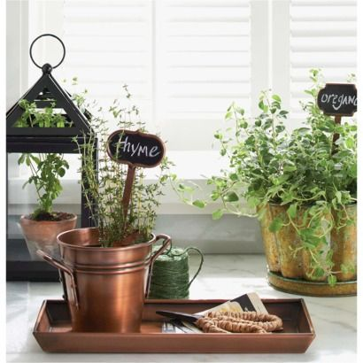 Smith & Hawken™ Rectangular Decorative Tray - Copper Finish (Target) (1.0