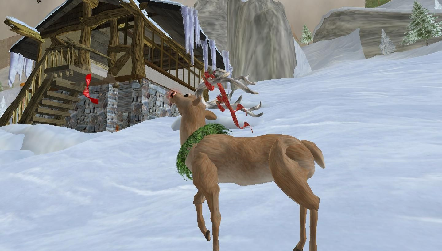 Real rudolph the red nosed reindeer flying - photo#47