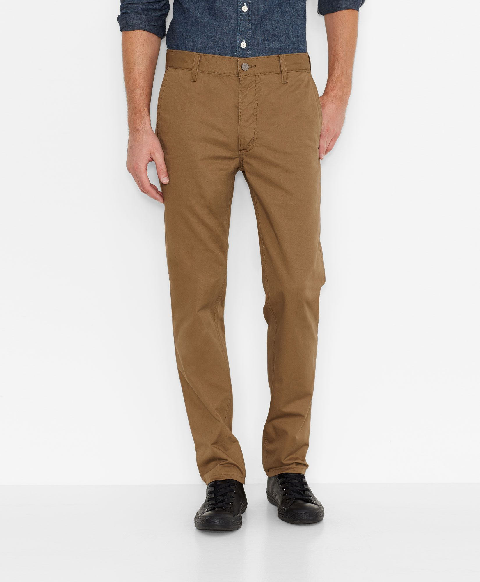 511 slim fit hybrid trousers black jeans men khaki