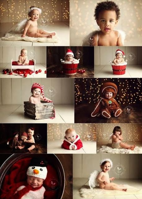 Christmas Photograph ideas for your baby