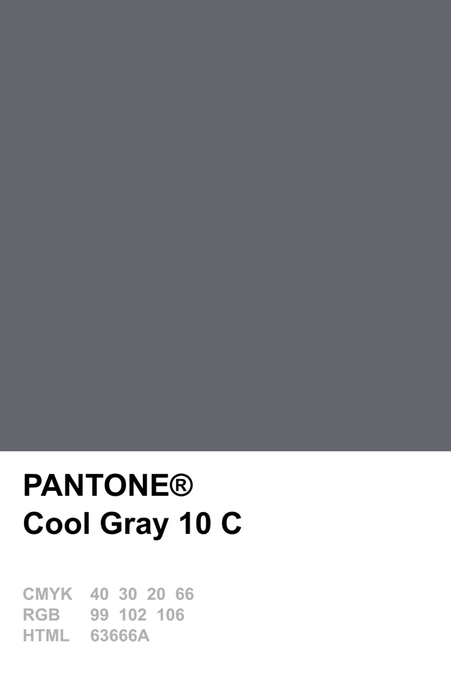 Pantone Cool Gray 10 C Color Palette Pinterest Pantone Gray