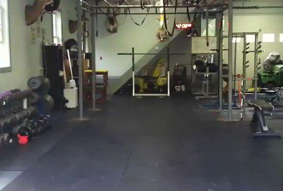 Crossfit garage gym tour favorite places spaces crossfit