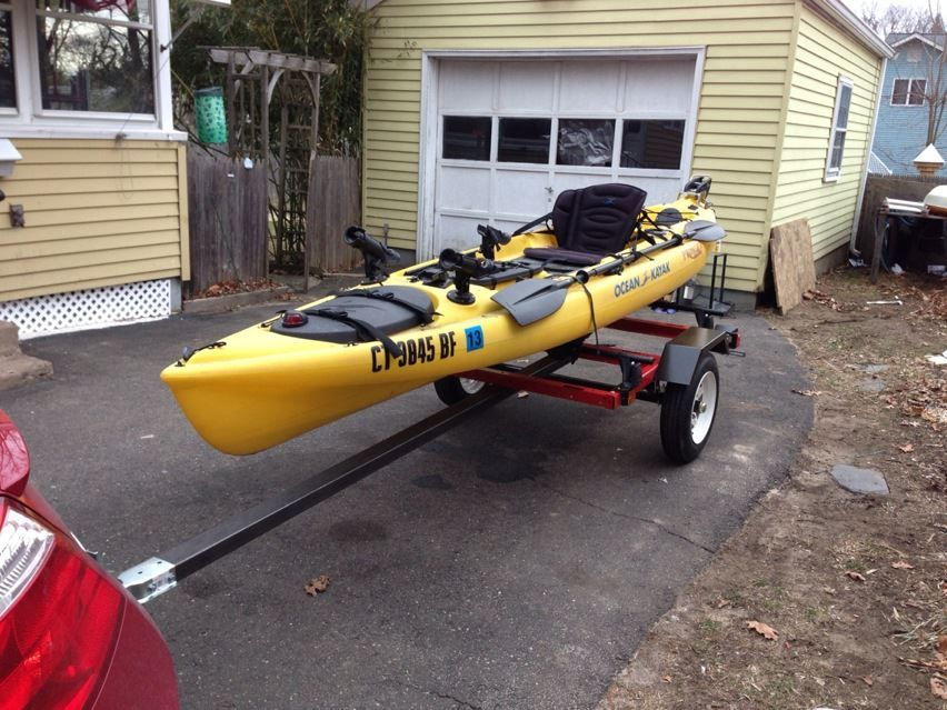 Custom Trailer For Ocean Kayak Kayaking And Kayak