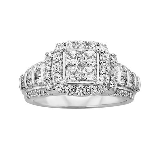 Great Fred Meyer Jewelers ct tw Diamond Engagement Ring