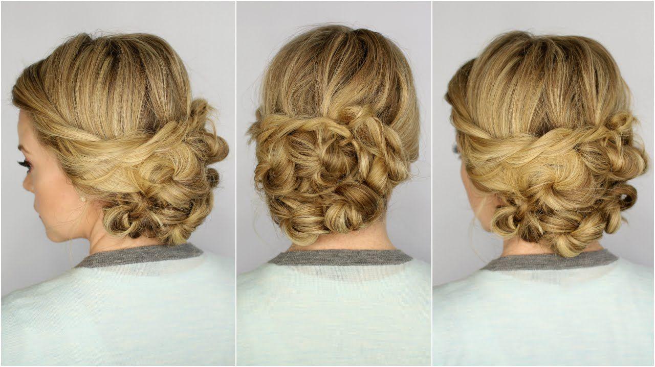 Looped updo hairytuations pinterest updo