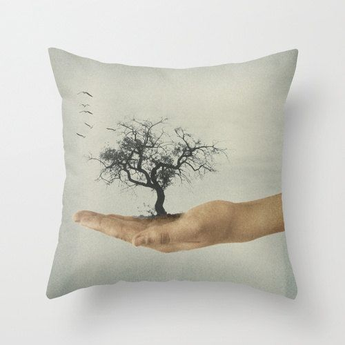 It's All in Your Mind  Pillow Cover Home Decor by SkyeZDesigns, $36.00