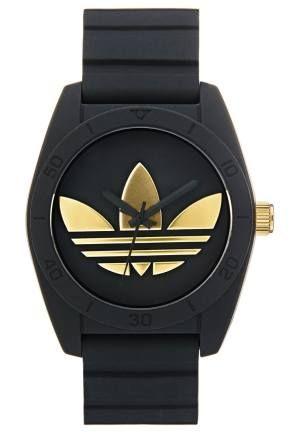 Adidas Originals Santiago Reloj Schwarz reloj Schwarz Santiago reloj Originals ADIDAS Noe.Moda