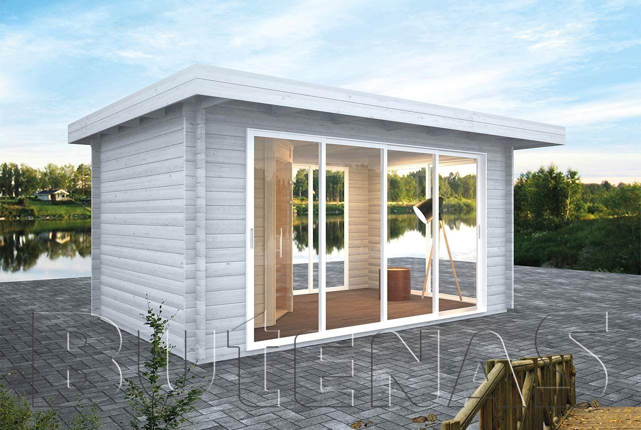 Gartenhaus PANORAMA Flachdach en 2020 (avec images)