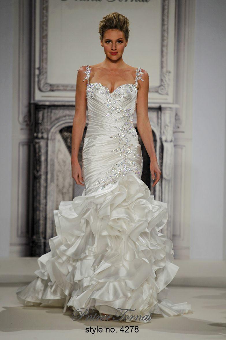 Pnina wedding dress  Pnina Tornai    Style No   Maceyus Wedding  Pinterest