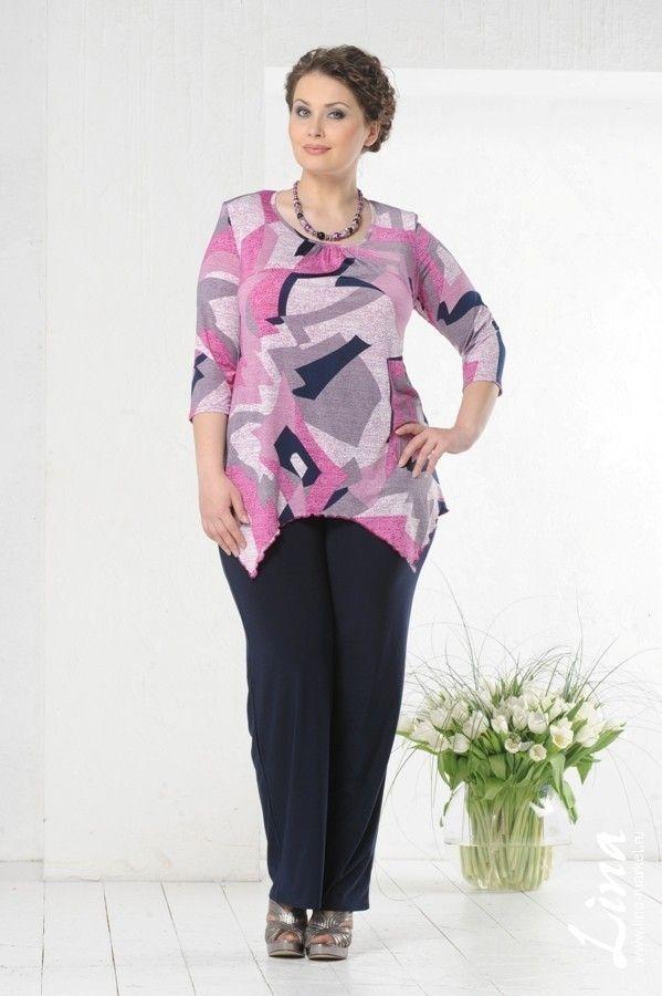 fb75b4639ea Женская одежда больших размеров Lina