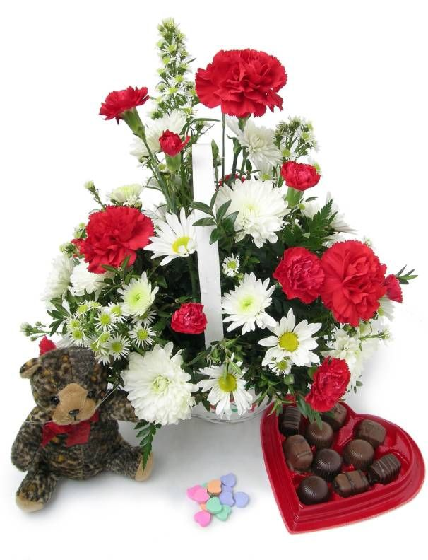 2014 latest valentine\'s day heart shaped flower bouquet gifts ...