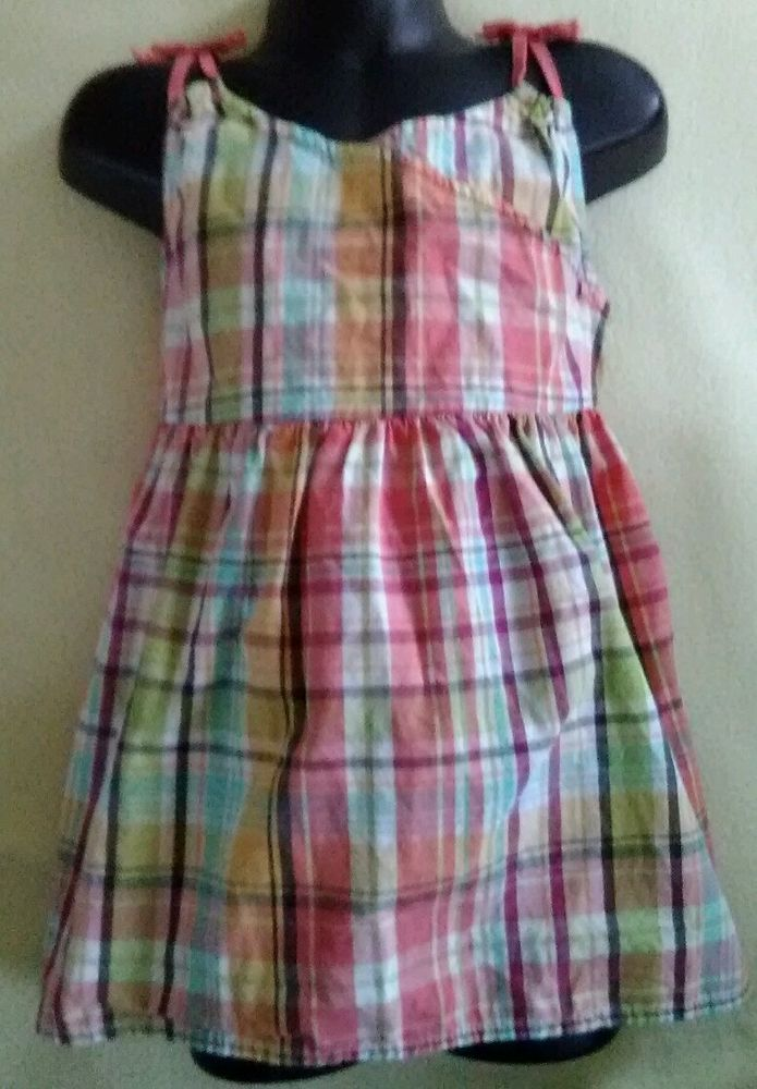 Gymboree country girl style dress top sleeveless sz 8 child multi color spring  #Gymboree #Everyday