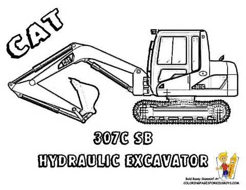 Bobcat Truck Coloring Coloring Pages Coloring Pages Construction Vehicles Tractor Coloring Pages