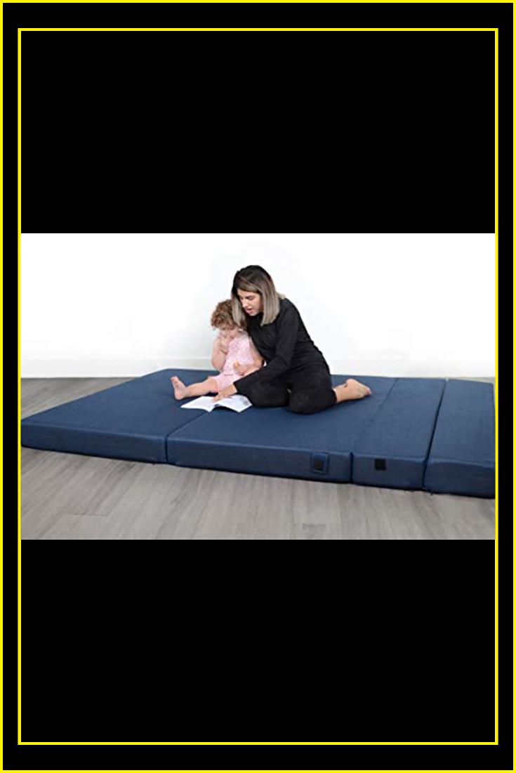 Milliard Tri-Fold Foam Folding Mattress and Sofa Bed for ...