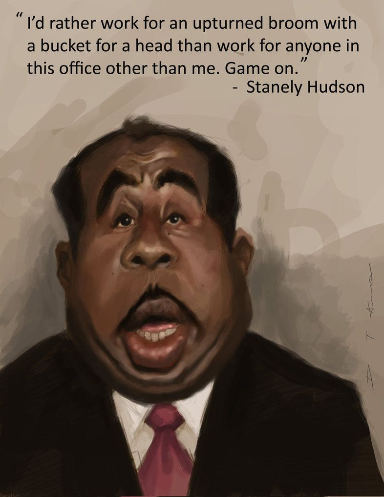 Stanley Hudson Theoffice The Office Show The Office Jim The Office Characters