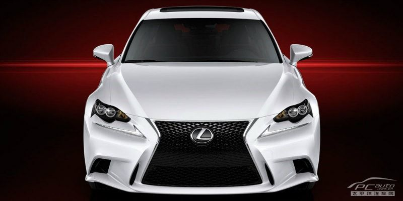 First Official Photos of All-New 2014 Lexus IS Sedan in F Sport Guise [Updated]