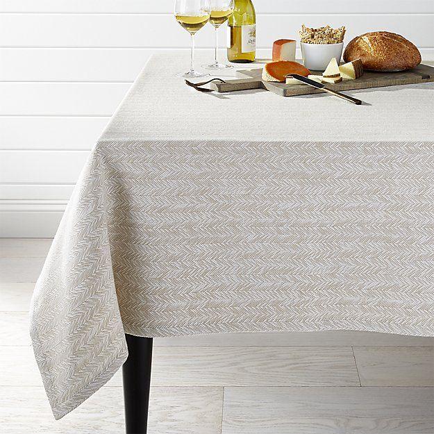 Baldwin 60 X120 Tablecloth Crate And Barrel 79 Table Cloth