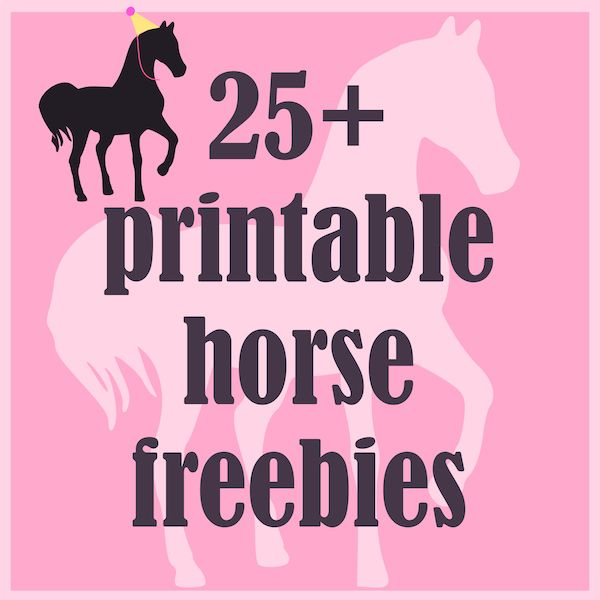 horse freebies