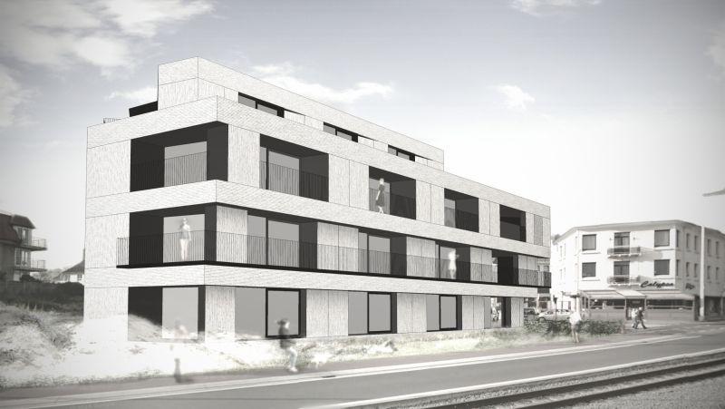 apartments PP   koksijde - Projects - CAAN Architecten / Gent
