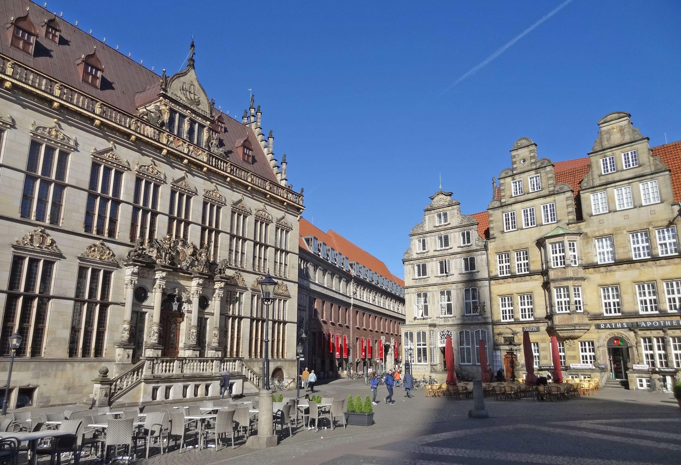 Service Mittendrin Tourist Information In Historischer Umgebung Im Kontorhaus Zwischen Schutting Und Sparkasse Am Bremer Marktplatz