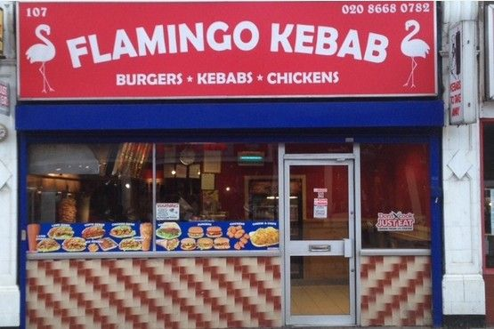 Flamingo Kebab House At Croydon Advertiser Kebab Industrial Kitchen Chicken Kebabs