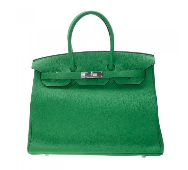 98a212f85668 ... netherlands new hermes handbag birkin 35 dark green 1k togo ss cadd8  d3cf5