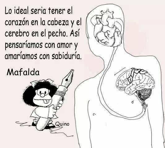 Las Cosas Irían De Otra Manera Meditaciones Mafalda