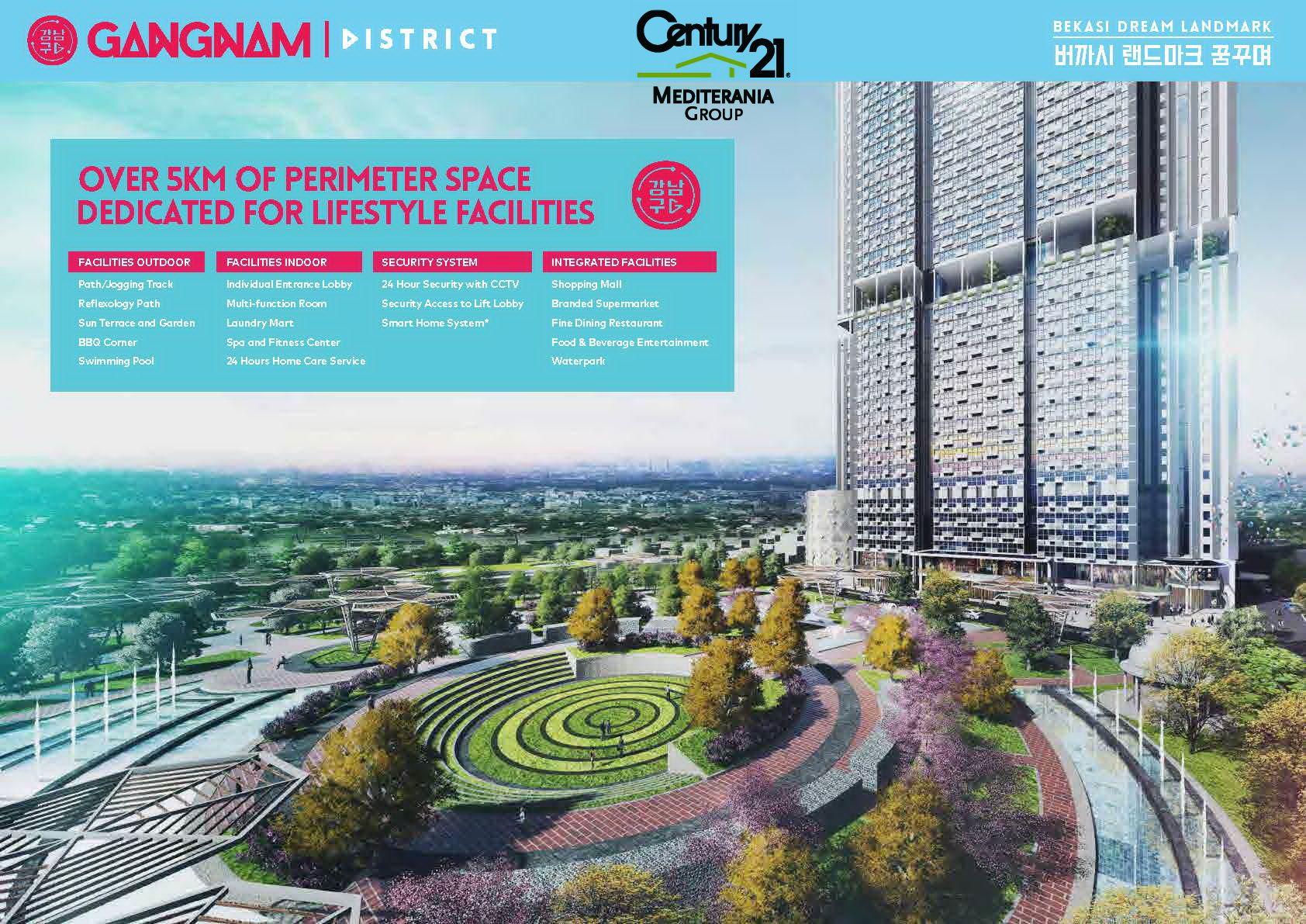 Apartemen Gangnam District By Pollux Properties Apartemen