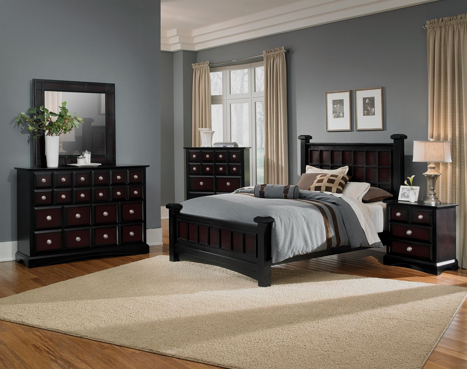 Miramar II Bedroom Collection   Value City Furniture Dont Like That Pieces  Are Sold Separately But Love The Mirrored Look | Master Bedroom | Pinterest  ...