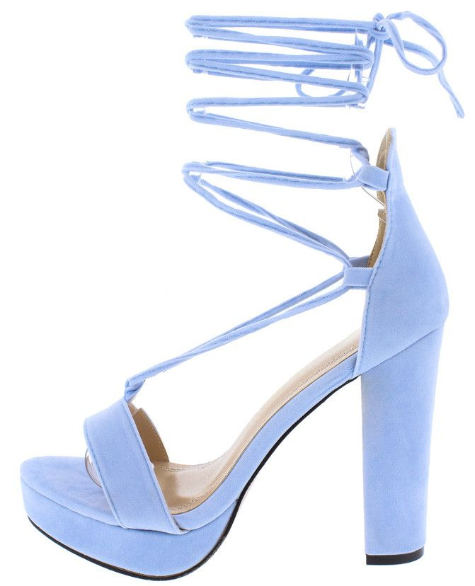 bdf9e0641b ALMERIA06 LIGHT BLUE WOMEN'S HEEL ONLY $10.88 Wholesale Fashion Shoes, Sexy  Boots, Gladiator Sandals