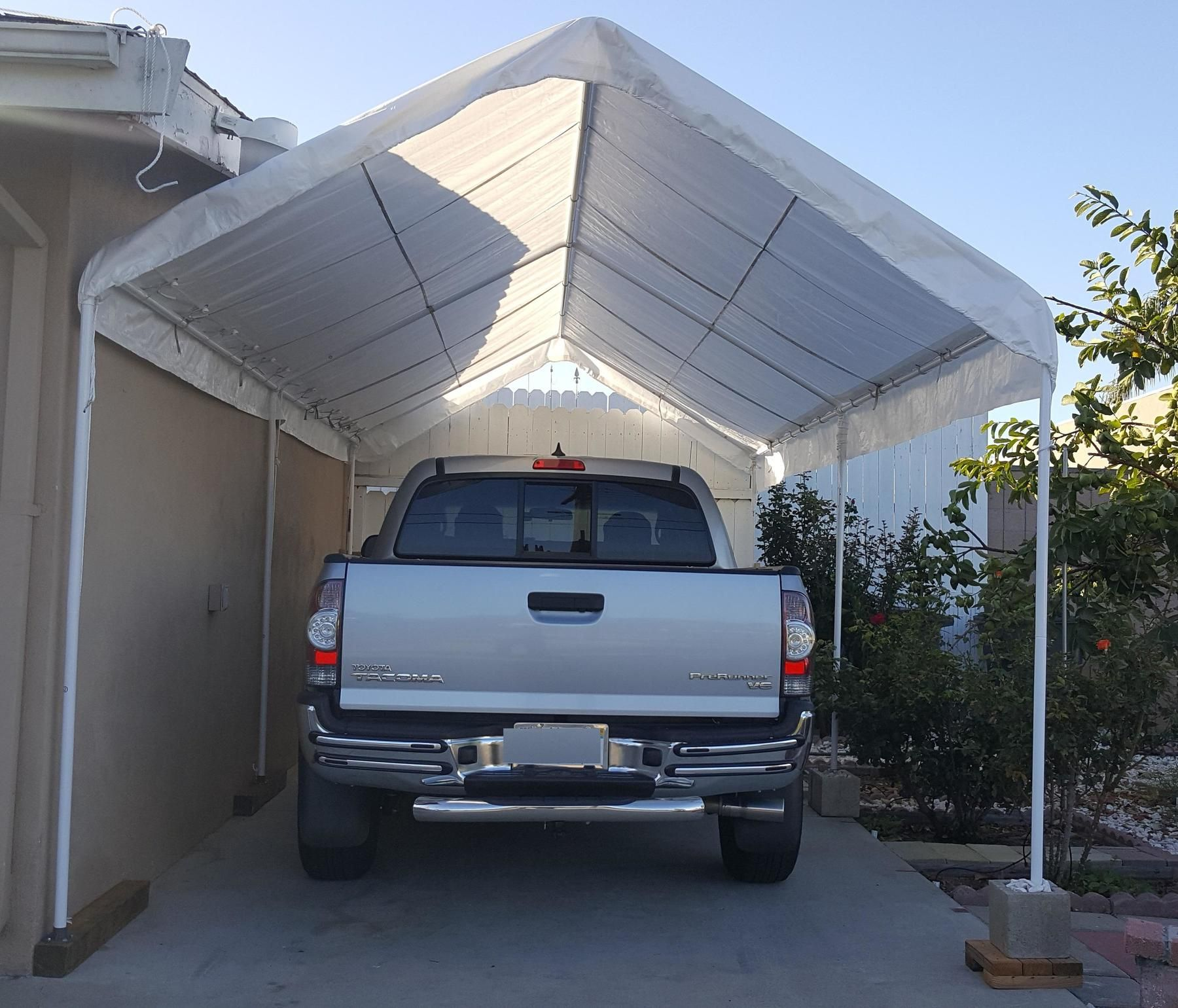 10 Ft. x 20 Ft. Portable Car Canopy in 2020 Car canopy