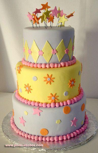 Sensational 3 Tier Birthday Cake With Images Tiered Cakes Birthday 3 Tier Funny Birthday Cards Online Chimdamsfinfo