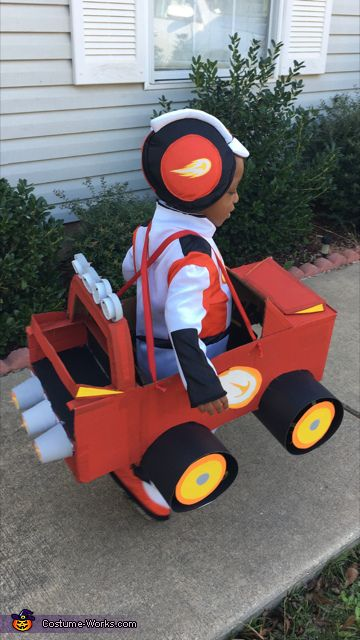 Aj And Blaze From Blaze And The Monster Machines Halloween Costume