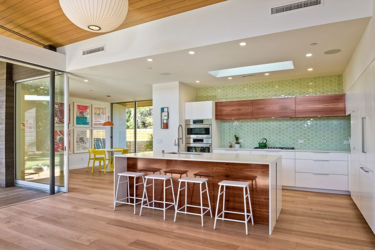 Holz wohnraum aussenbereich weiss küche modern