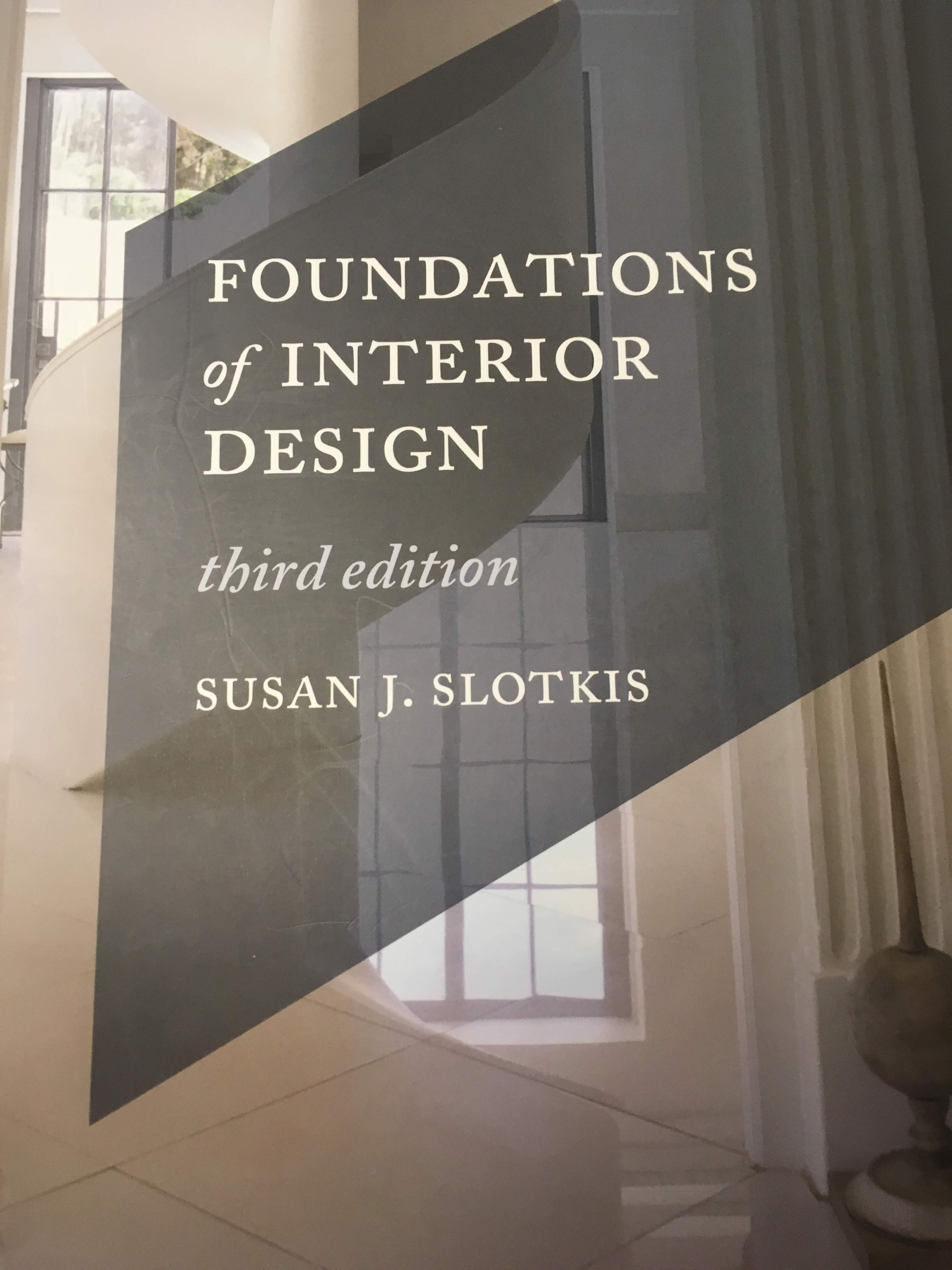 Foundations Of Interior Design 3rd Edition Offers A Thorough