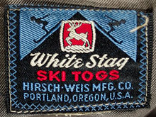 Vintage White Stag Tag When They Began Making Ski Clothes In Portland Or Whitestag Vintagetags Vintageclothing Originalname In 2020 White Stag Stag Vintage Tags