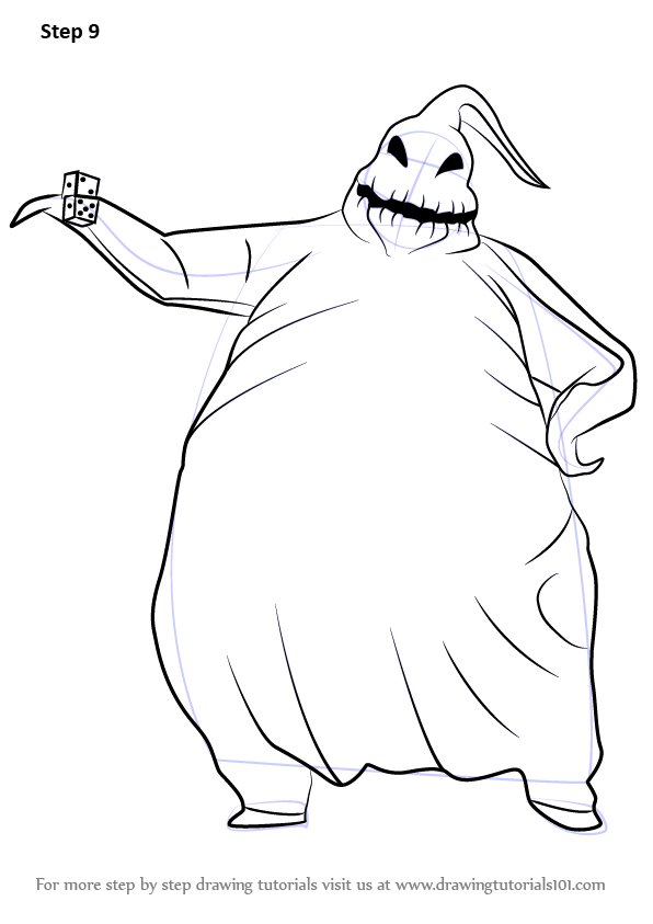 Learn How To Draw Oogie Boogie From The Nightmare Befo Nightmare Before Christmas Drawings Nightmare Before Christmas Ornaments Jack Nightmare Before Christmas