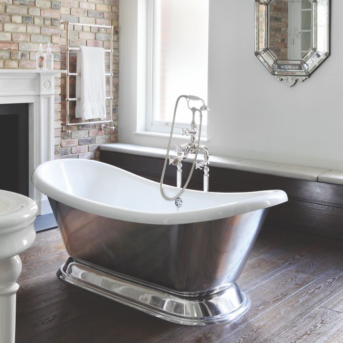 Excelsior Aluminium Bath with Polished Plinth   Home   Pinterest ...