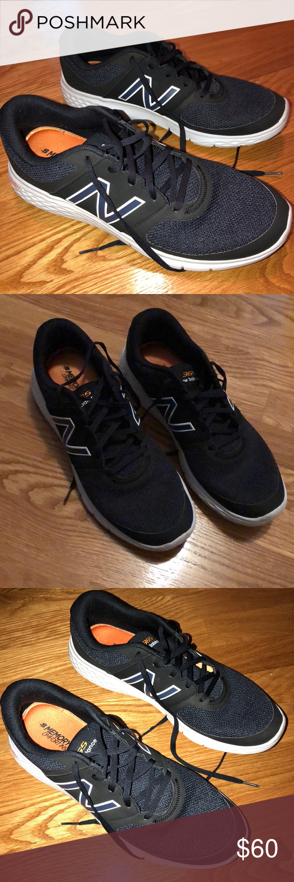 Menu0027s New Balance Crush sneakers size 115