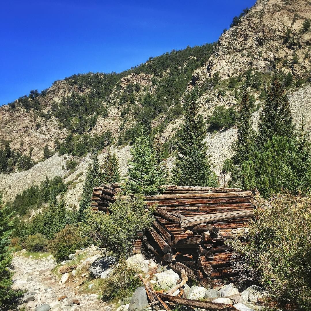 A Few Log Cabins Still Stand As Reminders Of The Old
