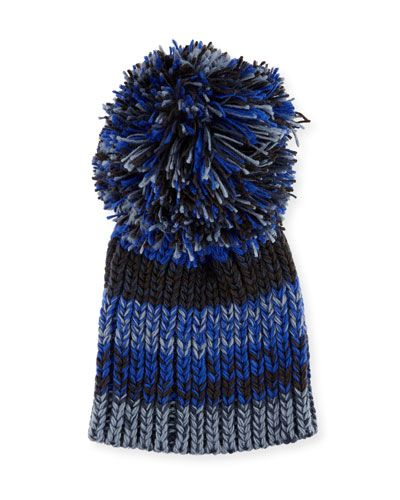 65cdf26ed Fringe Pompom Knit Party Beanie | *Clothingaccessories > Hats ...