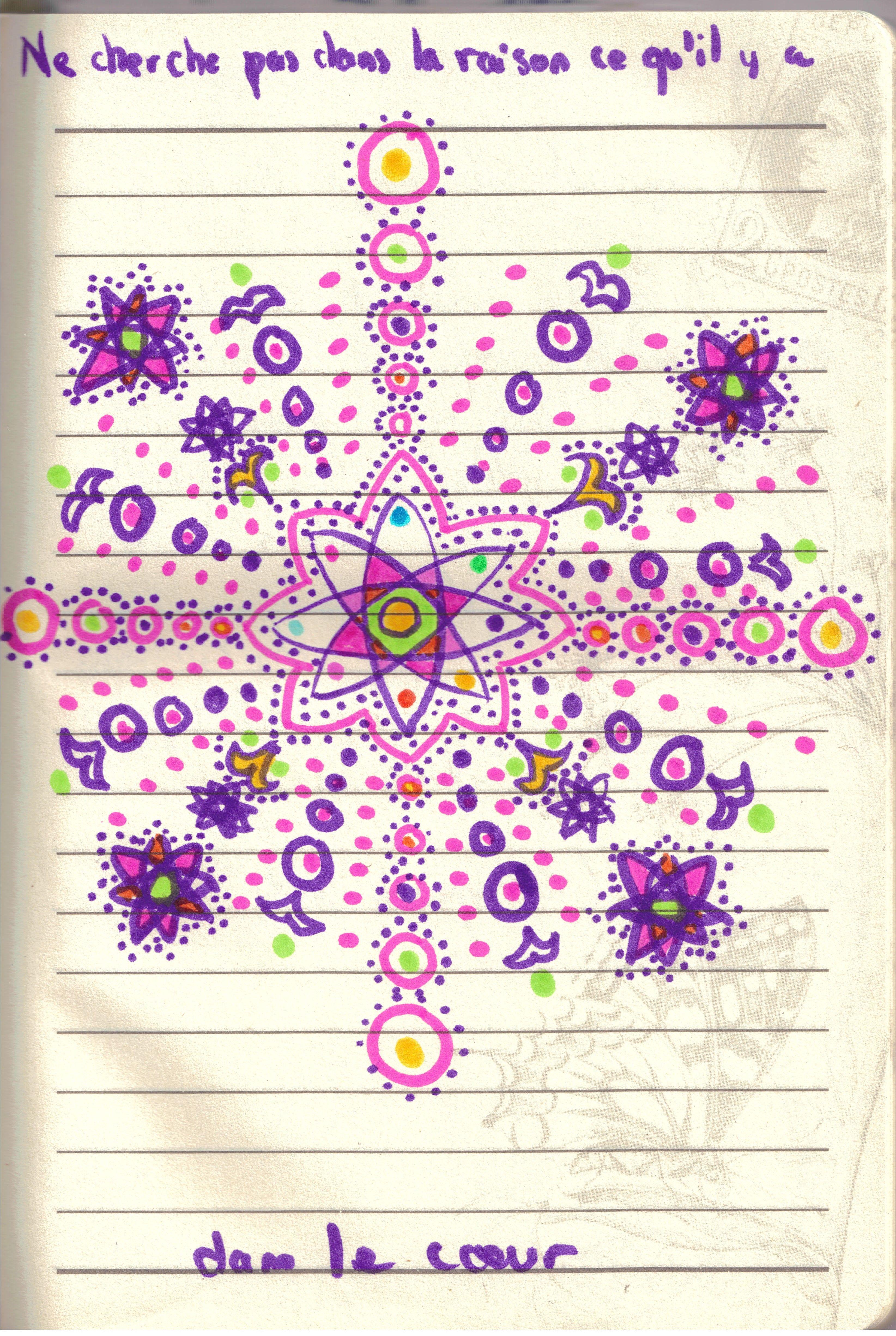 dessin intuitif par Claire Munier
